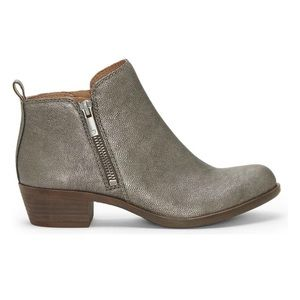 Lucky Brand Women's Basel Boot, Rock Metallic 11M